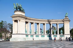 Millenium Monument Budapest Hungary Royalty Free Stock Photo