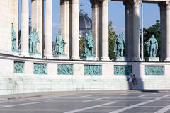 Millenium Monument Budapest Hungary Stock Photo