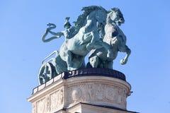 Millenium Monument Budapest Hungary Stock Images