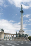 Millenium monument, Budapest Royalty Free Stock Photos