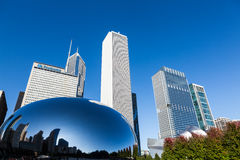 Millenium Park, Chicago, Illinois Royalty Free Stock Images