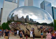 Millenium park in Chicago, USA Stock Images