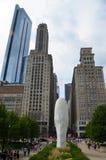 Millenium park in Chicago, USA Stock Image