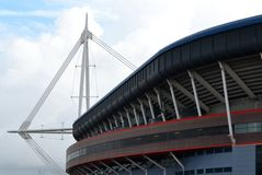 Millenium stadium Stock Photography