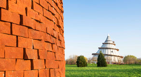 Millenium Tower in Magdeburg, Germany Royalty Free Stock Image