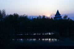 Millenium Tower in Magdeburg, Germany Royalty Free Stock Photos