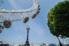 Millenium Wheel London Royalty Free Stock Photo