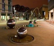 Milleniummen arbeta i trädgården Sheffield Royaltyfri Bild