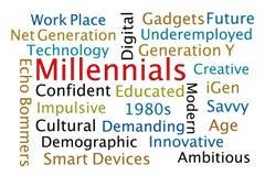 Millennials стоковые изображения