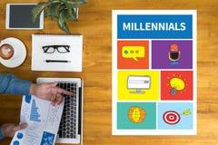 Millennials stockfotografie