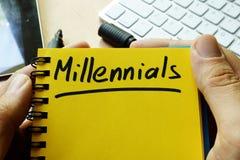 Millennials 免版税库存照片