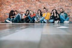 Millennials happy free spirited generation royalty free stock image