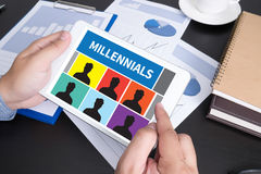 Millennials Royalty Free Stock Photography