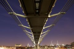 Millennium Bridge Royalty Free Stock Image