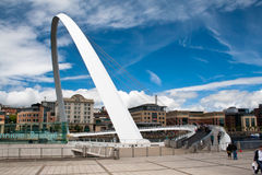 Millennium Bridge Newcastle Royalty Free Stock Photos
