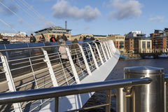 Millennium Bridge close-up Royalty Free Stock Image