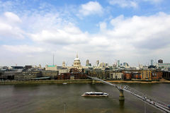 Millennium Bridge London Royalty Free Stock Images