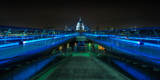 The Millennium Bridge, London Stock Photo