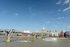 Millennium Bridge, London Royalty Free Stock Image