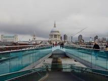 Millennium Bridge Stock Images