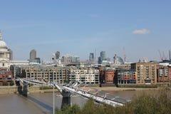 Millennium Bridge Stock Photo
