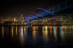 Millennium Bridge Royalty Free Stock Images
