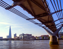Millennium Bridge Stock Image