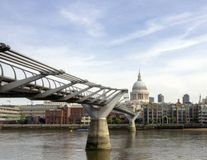 Millennium Bridge Royalty Free Stock Photography