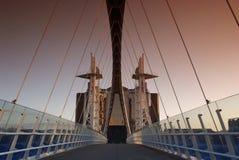 Millennium Bridge pt. I Stock Photo
