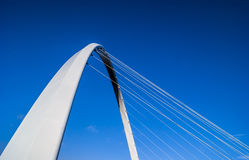 Millennium Bridge - Quayside Stock Photo