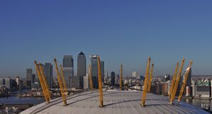Millennium Dome в Гринвич стоковые изображения rf