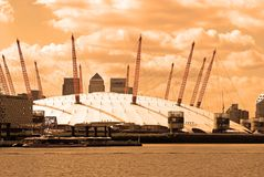 The Millennium Dome, London. Stock Images