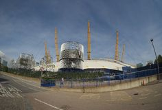 Millennium Dome in London Stock Images