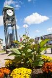 Millennium Heritage clock tower Bradford ON Royalty Free Stock Photography