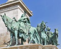 Millennium Memorial in Budapest, Hungary. Stock Photography