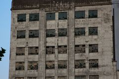 Millennium Mills Windows royalty free stock photography