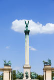 Millennium Monument in Budapest Royalty Free Stock Image