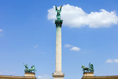 Millennium Monument in Budapest Royalty Free Stock Photos