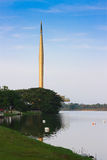 Millennium Monument at Putrajaya Malaysia. Beautiful scenery at Millennium Monument at Putrajaya Malaysia Royalty Free Stock Photography