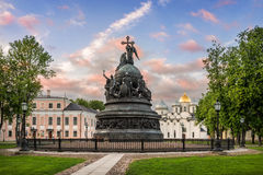 Millennium Monument Russia Stock Images