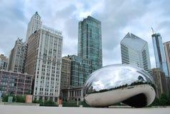 Millennium Park φασολιών του Σικάγου Στοκ εικόνα με δικαίωμα ελεύθερης χρήσης