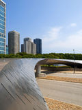 Millennium Park Bridge, Chicago Stock Photography
