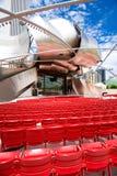 Millennium park in Chicago Stock Photo