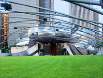 Millennium Park Chicago Illinois Stock Photo