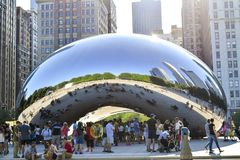 Millennium Park Chicago Royalty Free Stock Photo