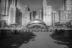 Millennium Park Chicago Stock Image