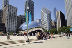 Millennium Park Chicago USA Stock Photography