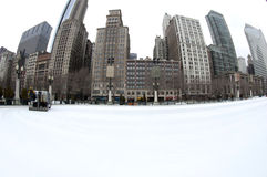 Millennium Park Ice Rink Stock Images