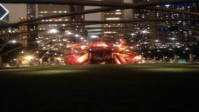Millennium park lights Stock Photo