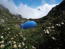 Millennium sleeping lake of  Goddess Royalty Free Stock Image